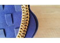 Złoty łańcuszek, próba 750 18k