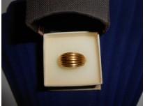 złoty pierścionek  750   18k