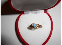 złoty pierścionek  585  14k
