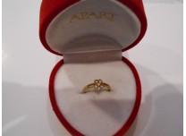 złoty pierścionek  333  8k