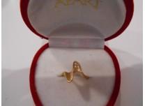 złoty pierścionek próba 585  14k