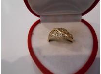 złoty pierścionek 585   14k r 18