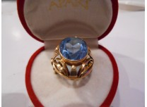 złoty pierścionek 585   14k r19