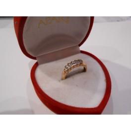 złoty pierścionek 585   14k r15