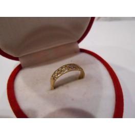 złoty pierścionek 585   14k r14