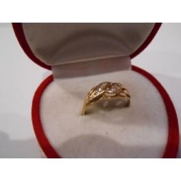 złote kolczyki  585  14k r16