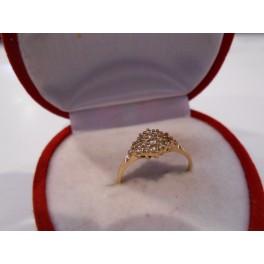 złoty pierścionek 585   14k  r17