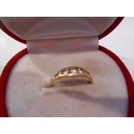 złoty pierścionek 585   14k  r12