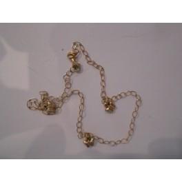 złota bransoletka 585  14 k
