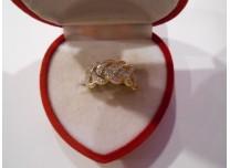 złoty pierścionek 585   14k r16