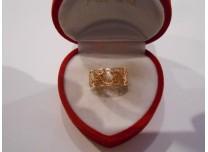 złoty pierścionek 585   14k r18