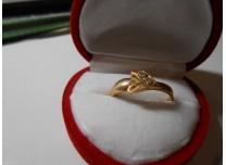 złoty pierscionek 585 14k