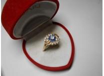 złoty pierścionek 585   14k  r22